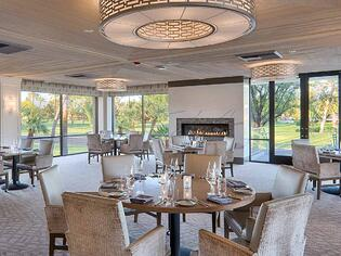 Fine dining at The Springs in Rancho Mirage