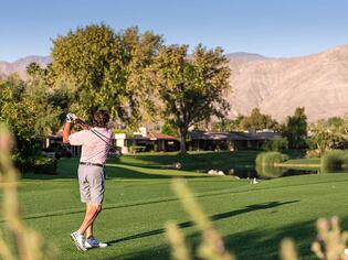 Private Golf Course in Rancho Mirage