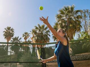 Tennis Courts Fitness at The Springs in Rancho Mirage