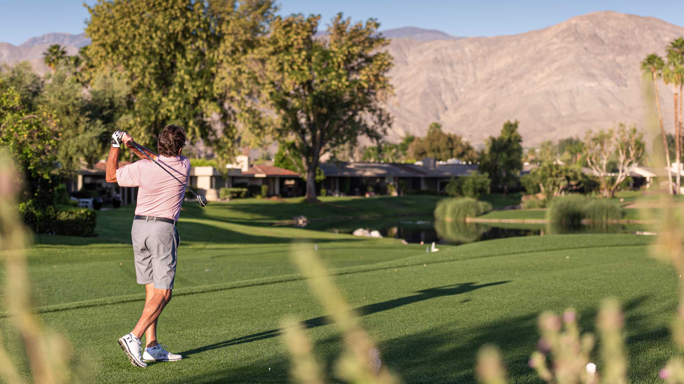 Golf at The Springs Country Club in Rancho Mirage, CA