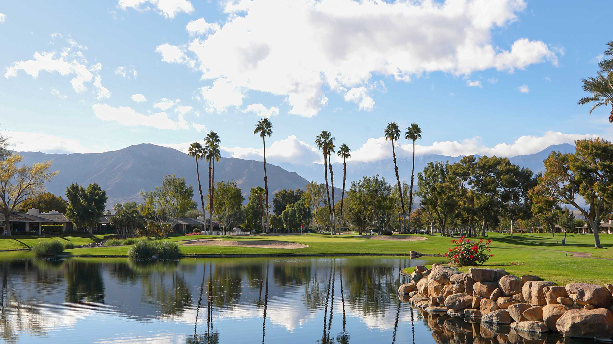 Private Golf Course at The Springs Country Club in Rancho Mirage, CA